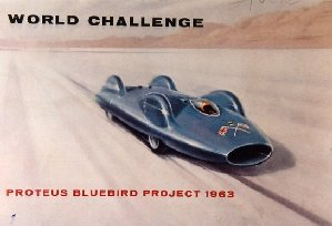 Donald Campbell's Bluebird Car